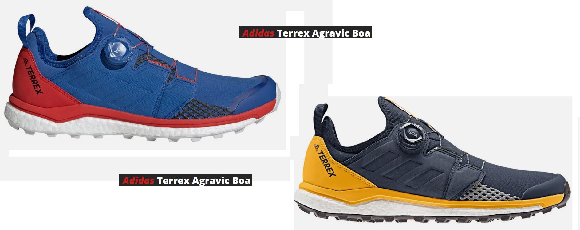 Adidas TERREX AGRAVIC BOA, Zapatillas de Trail Running para Hombre