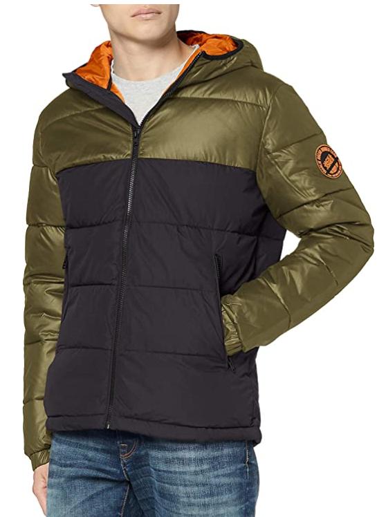 TALLA L - Jack & Jones Jcooscar Jacket Hood Chaqueta para Hombre