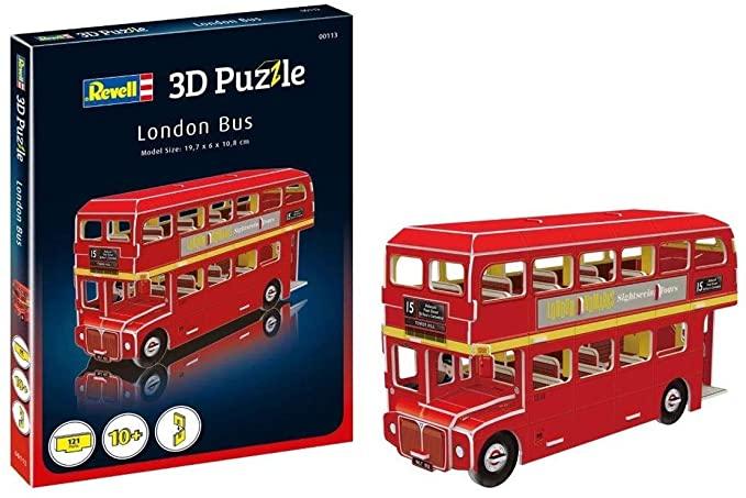 Puzzle 3D Bus de Londres