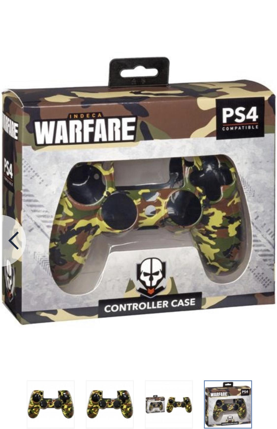 Carcasa Warfare para PS4