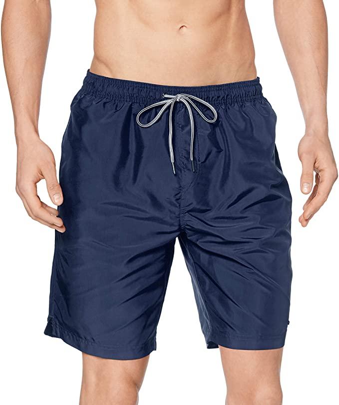 Marca Amazon - MERAKI Shorts de Natación Hombre 5 colores.