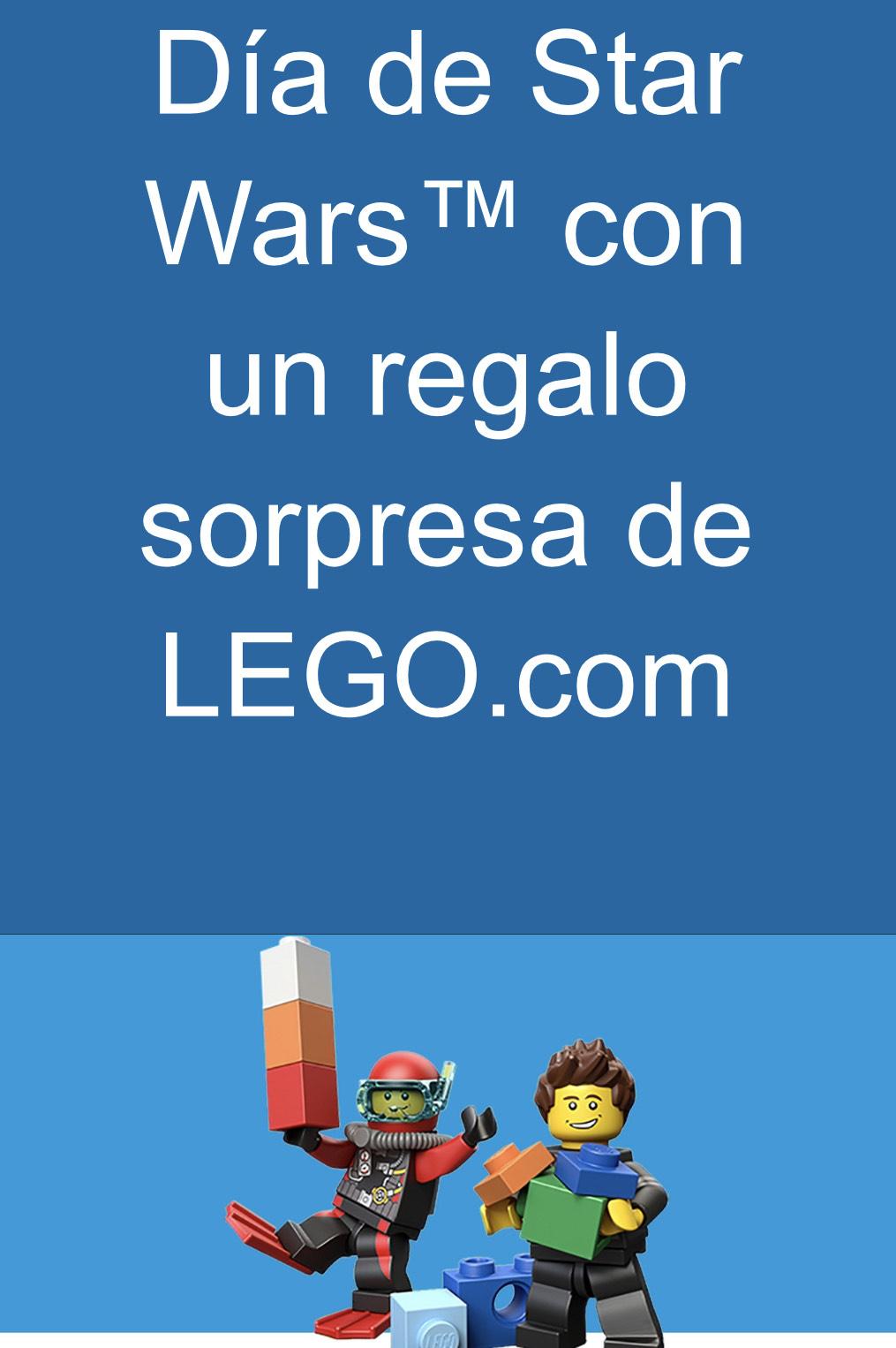 Regalo Lego sorpresa gastando 15€ en PayPal( Hay que utilizar cupón)