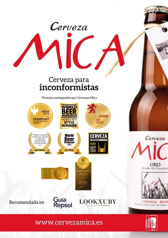 -15% en Cerveza Artesana Mica