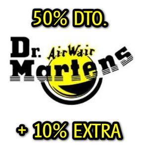 DR. MARTENS: 50% DTO. + 10% EXTRA
