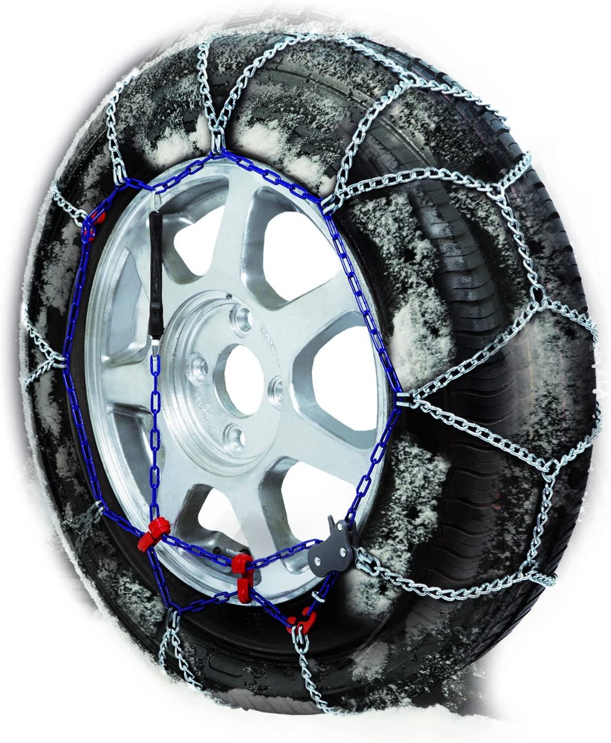 "Gulf 76011 ""X7"" - Cadenas de nieve 7 mm para coche, Talla 065"