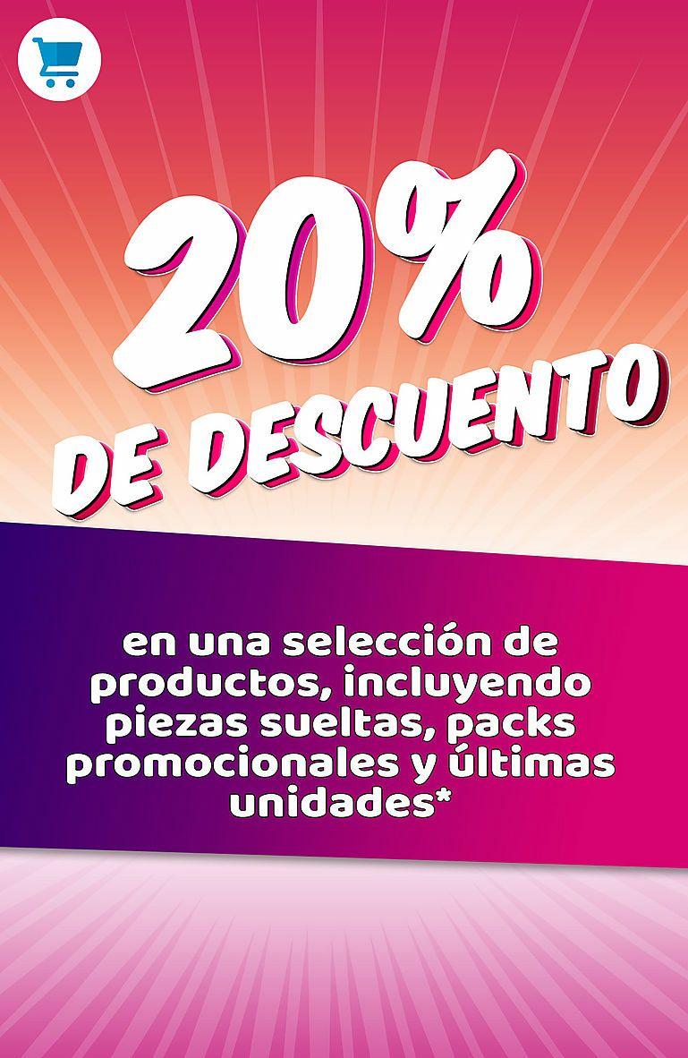 Playmobil - selección 20% descuento