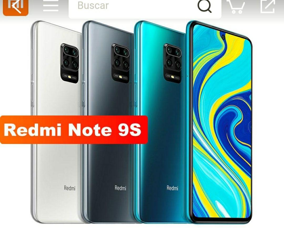 Xiaomi Redmi Note 9S barato