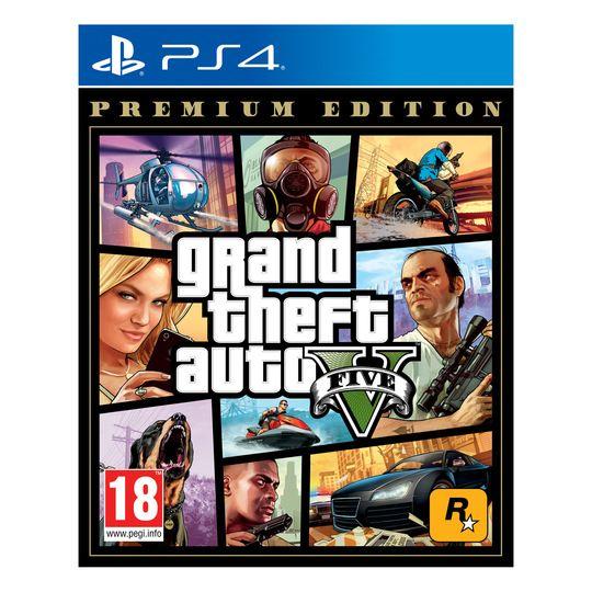 GTA V Premium Edition PS4 (Físico) por menos de 5€ con Openbank