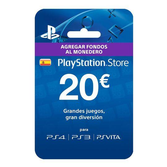 Tarjeta 20€ PSN por solo 7,94€