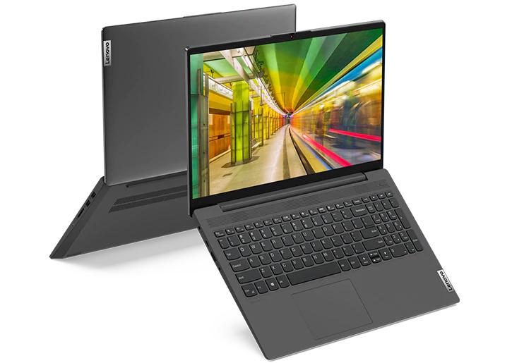 Portátil Lenovo IdeaPad 5 con Ryzen 3 4300U, 8GB, FULL HD IPS, 256 NVME, Lector de huellas, Bateria de 57Wh