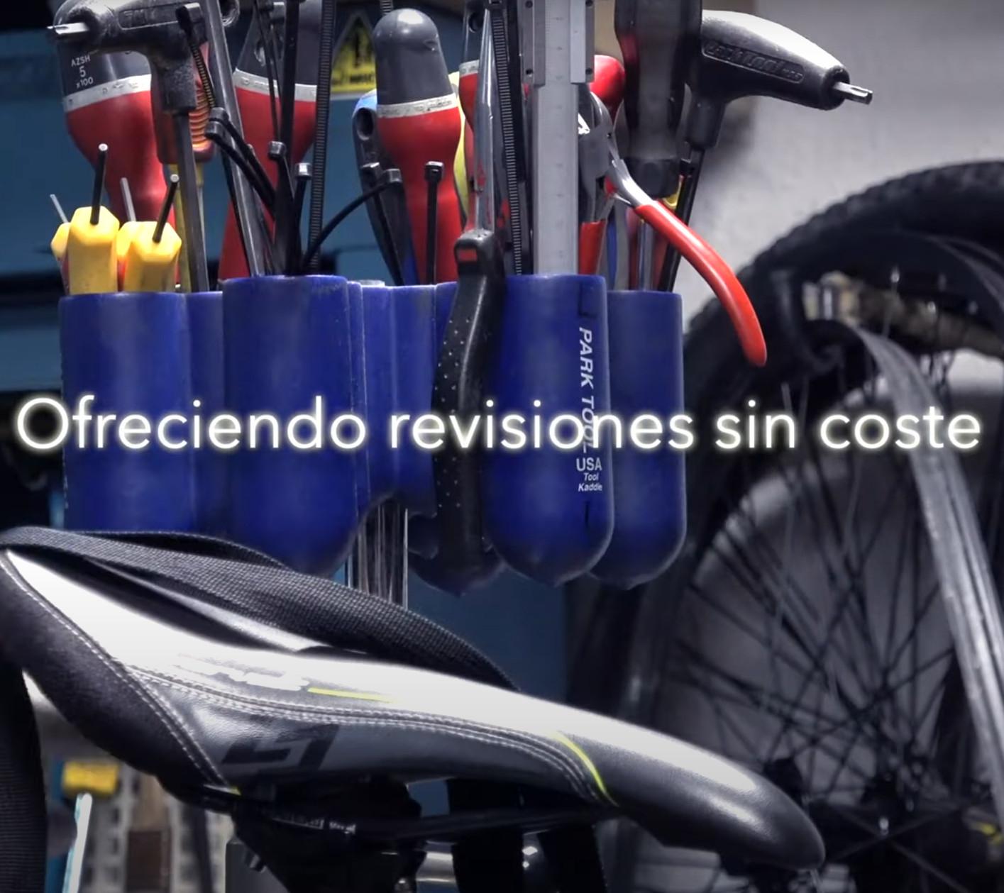ATEBI: Revisión standard de tu bicicleta (GRATIS)