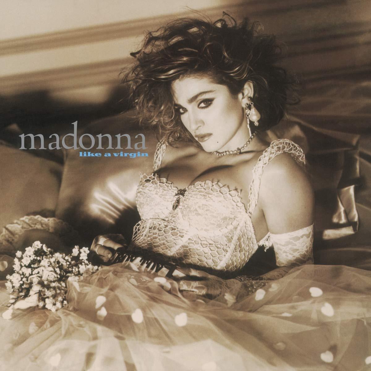"Vinilo ""Like a Virgin"" de Madonna Edición LP Transparente"