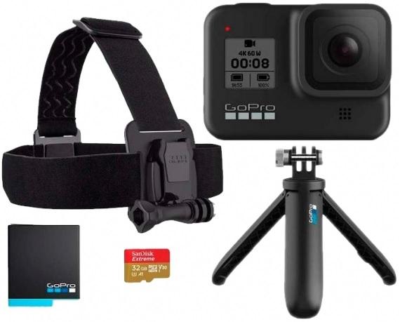 Kit GoPro Hero 8 (cupón openbank)
