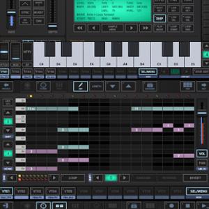 G-Stomper Studio :: mezclador, editor, secuenciador, caja de ritmos, sinte y más (Android)