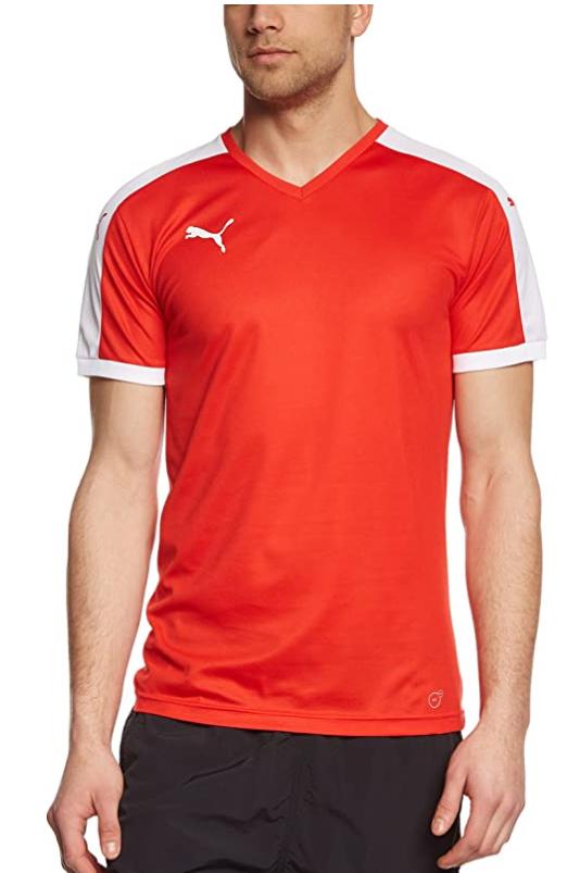 TALLA S - PUMA Pitch Shortsleeved Shirt Camiseta, Hombre