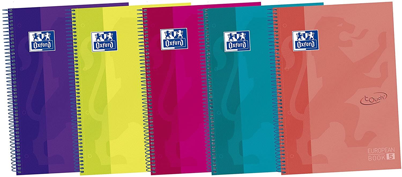 5 cuadernos A4 oxford por 5,23€ y 4 botes de mermelada de fresa hero 5,36€ (precio al tramitar) y