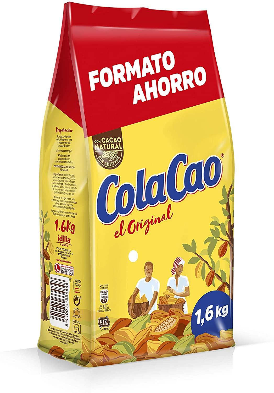 ColaCao Original: Cacao Natural y sin Aditivos - 1600g