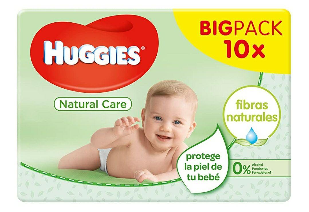 Huggies Natural Care - Toallitas para bebé, 560 toallitas (precio al tramitar pedido)