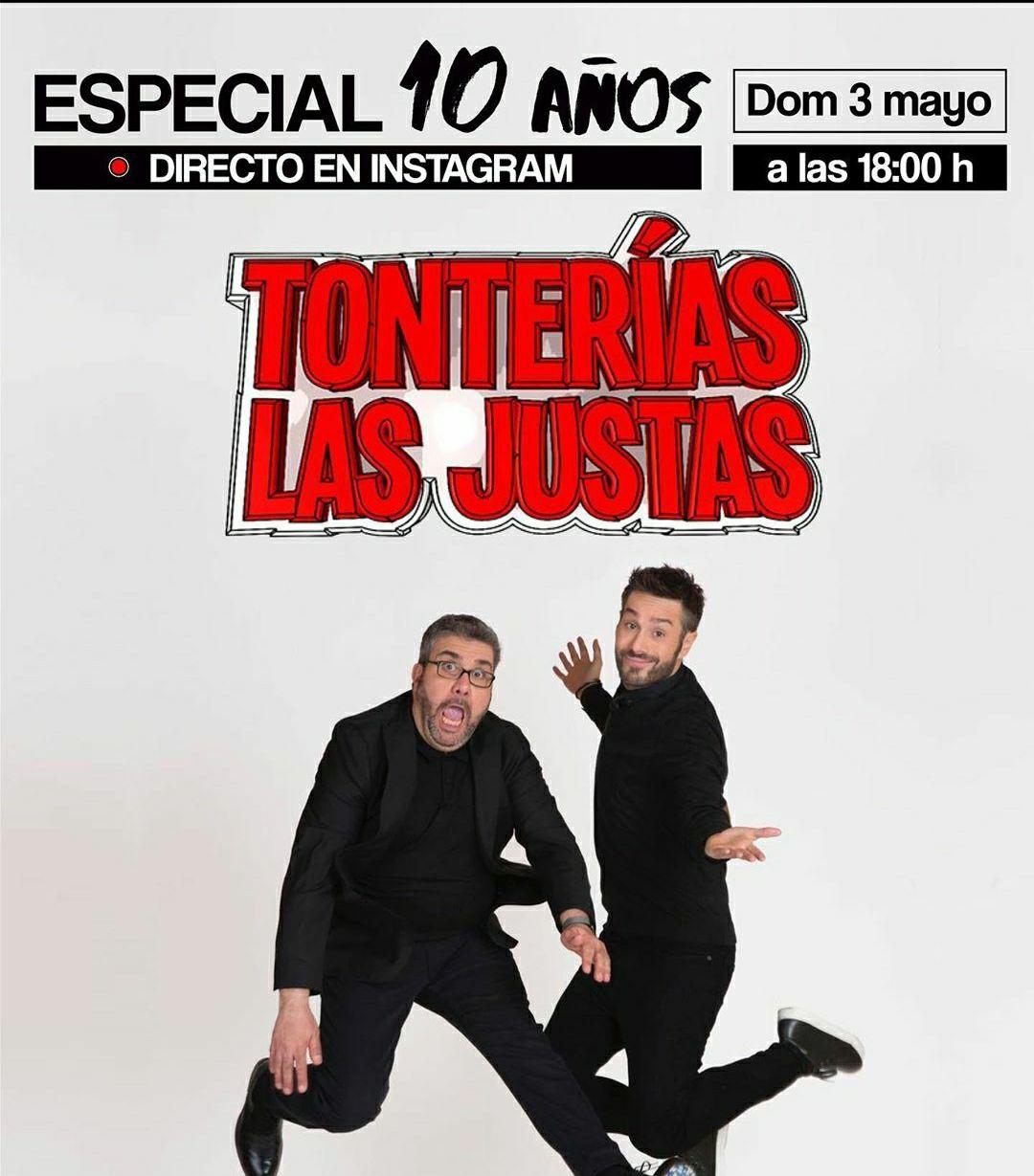 """Especial 10 años """"Tonterías las justas"""" Dani y Flo gratis"""
