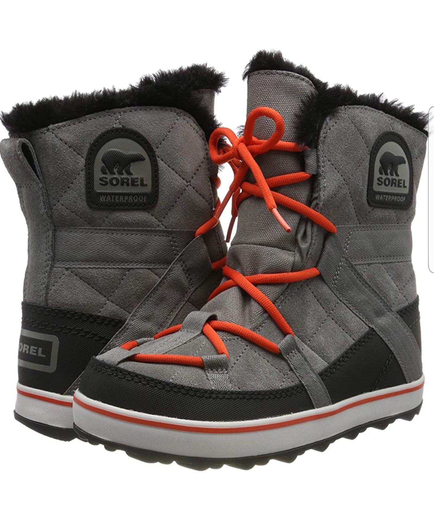 Sorel Glacy Explorer Shortie, Botas para Mujer (Número 37)