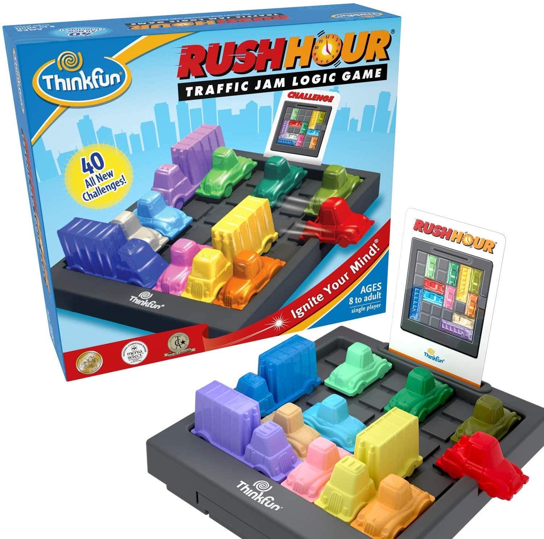 ThinkFun - Rush Hour, juego de mesa en Inglés (TF5000)