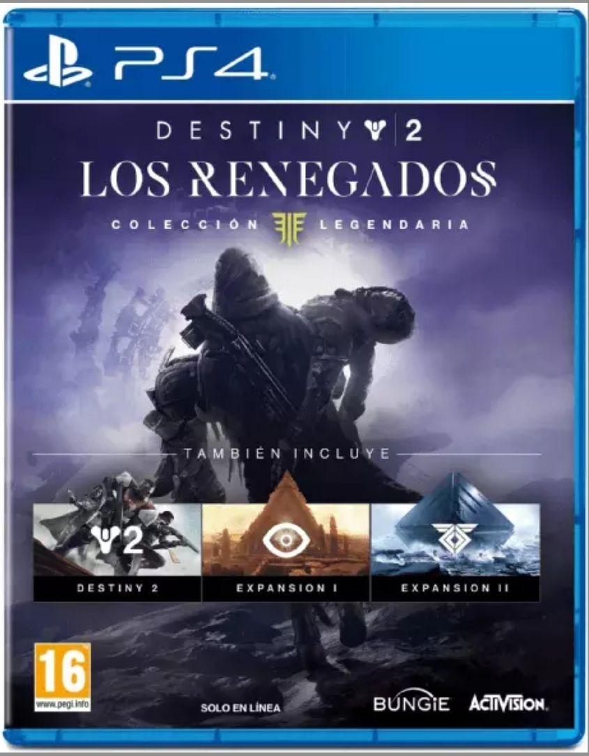 PS4 Destiny 2 Los Renegados (Colección Legendaria)