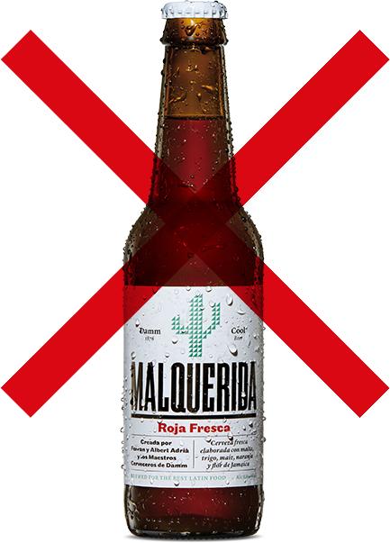 Prueba GRATIS la nueva Cerveza Damm Malquerida: Roja Fresca (6 botellines) [REEMBOLSO]