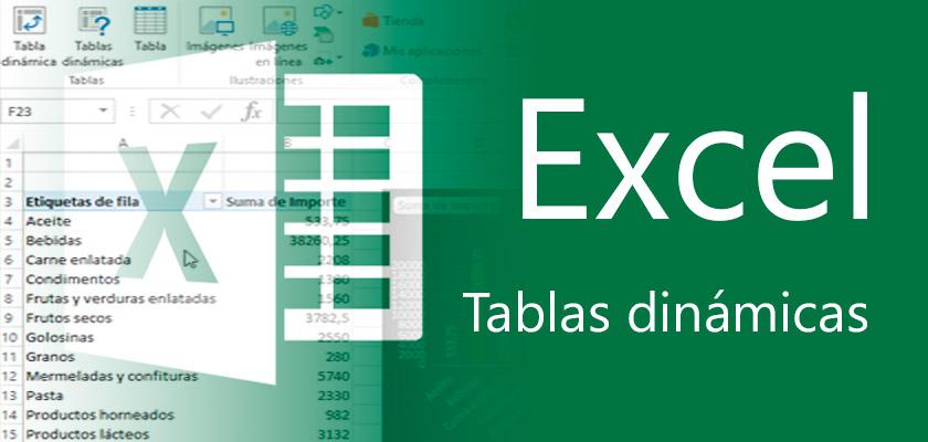 Microsoft Excel - Análisis de datos con tablas dinámicas