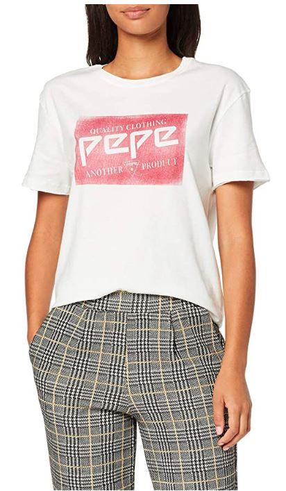 Pepe Jeans Morgane Camiseta para Mujer. Talla L.