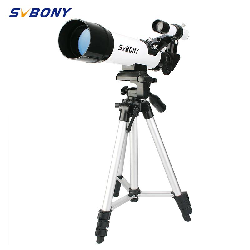Telescopio astronómico svbony sv25