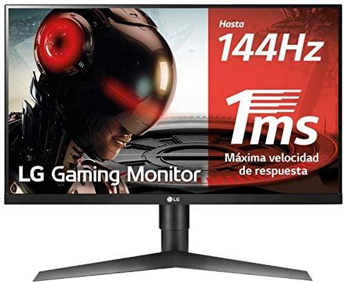 "LG 27GL650F-B - Monitor Gaming FHD (27"") Panel IPS 144Hz, FreeSync 2, 400 cd/m²"