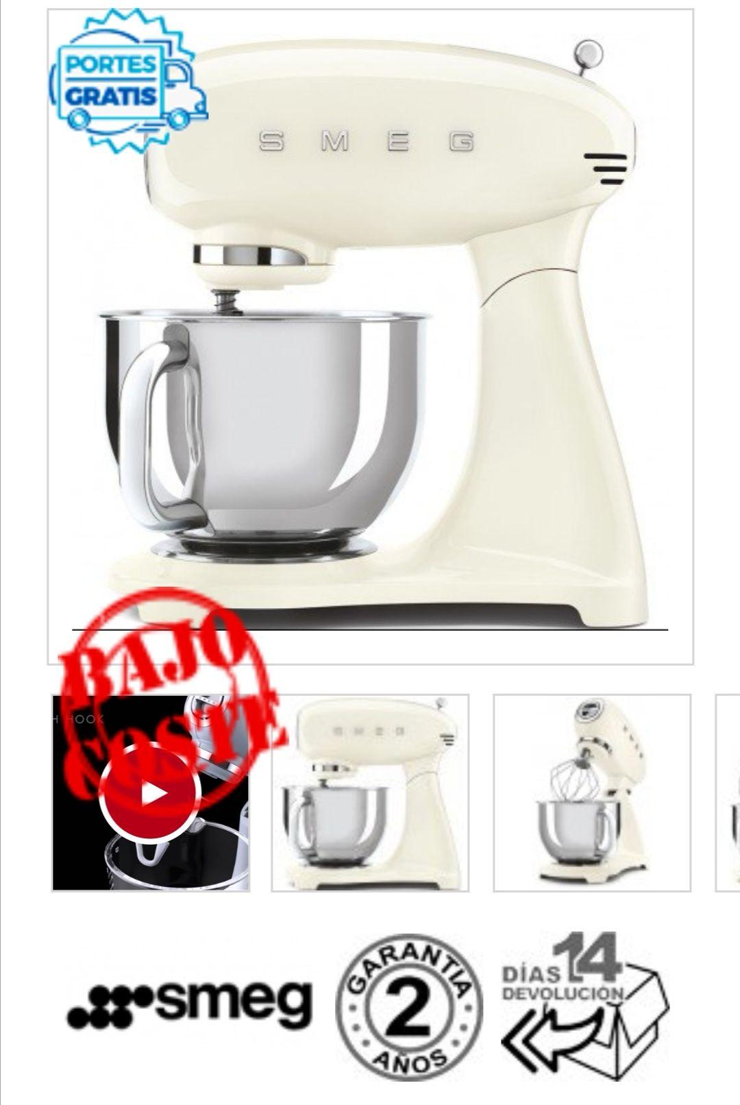 Chollazo! Robot de cocina Smeg a menos de la mitad de precio
