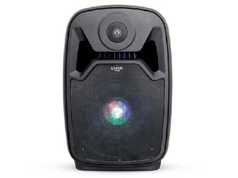 Altavoz portátil - Vieta HW1000, Bluetooth, Micrófono, FM, Lector SD, Usb 2.0