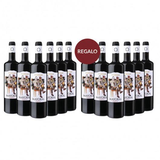 Vino Tinto Mayoral Reservado +1 Caja Regalo Mayoral Reservado (12 bot)