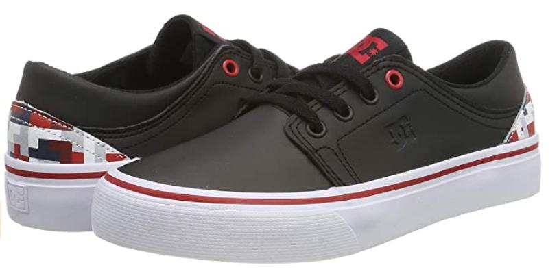 TALLAS 28.5 y 35.5 - DC Shoes (DCSHI) Trase Se-Shoes For Boys, Zapatillas de Skate para Niños