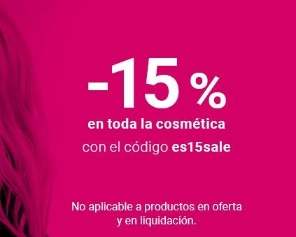 15% de descuento en TODA la cosmética - NOTINO