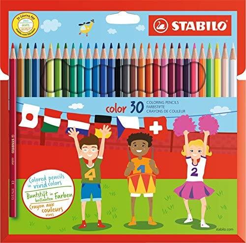 Stabilo - Pack de 30 lapices de colores - Reacondicionado
