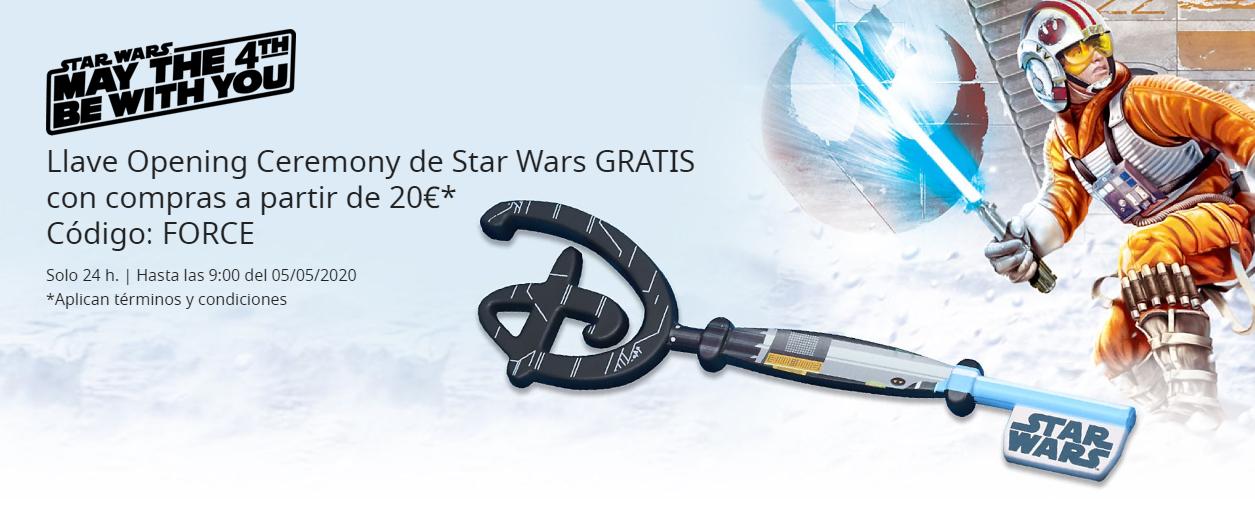 Llave Disney de regalo por 20€ compra