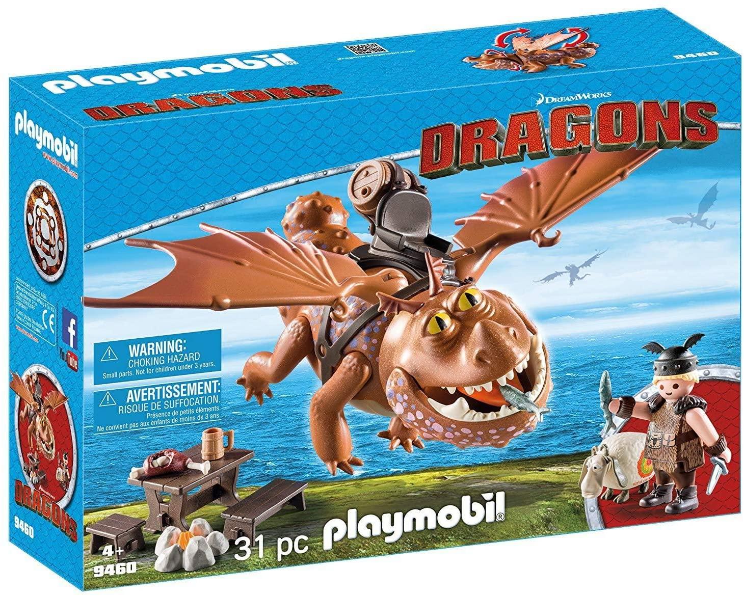 PLAYMOBIL DreamWorks Dragons Barrilete y Patapez