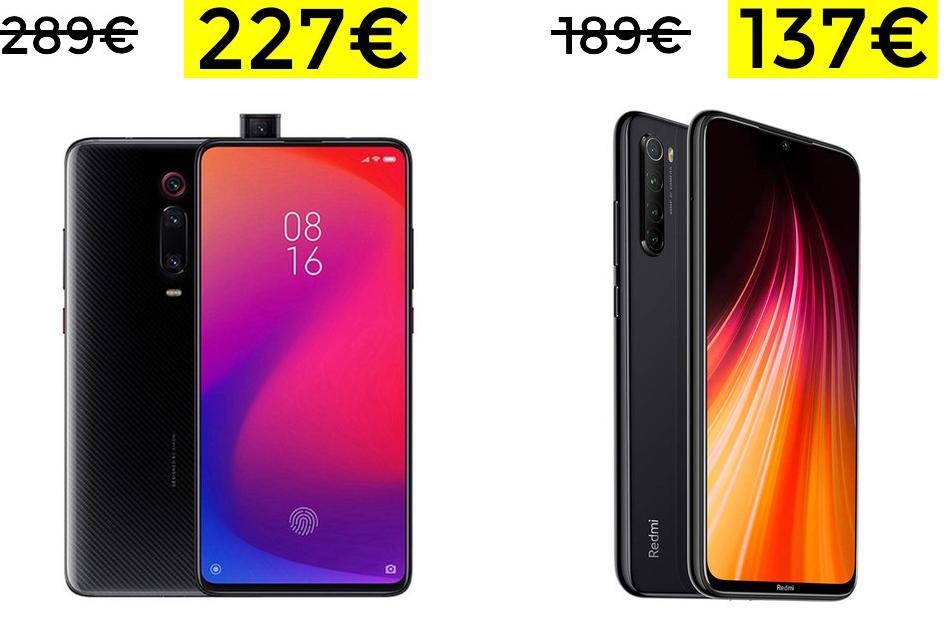 Preciazos en Xiaomi Mi 9T y Note 8 128GB desde España