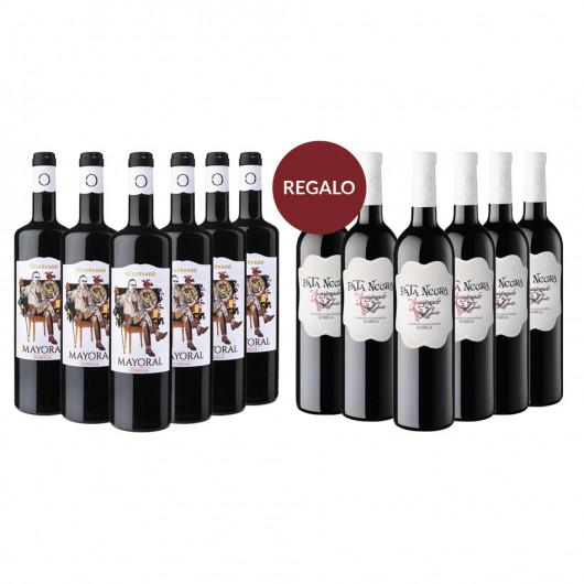 Mayoral Reservado +Caja De Regalo P. Negra Apas. (12Bot)