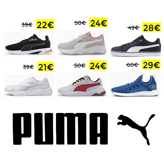 Vuelve el 20% EXTRA en todo Puma, incluido Outlet