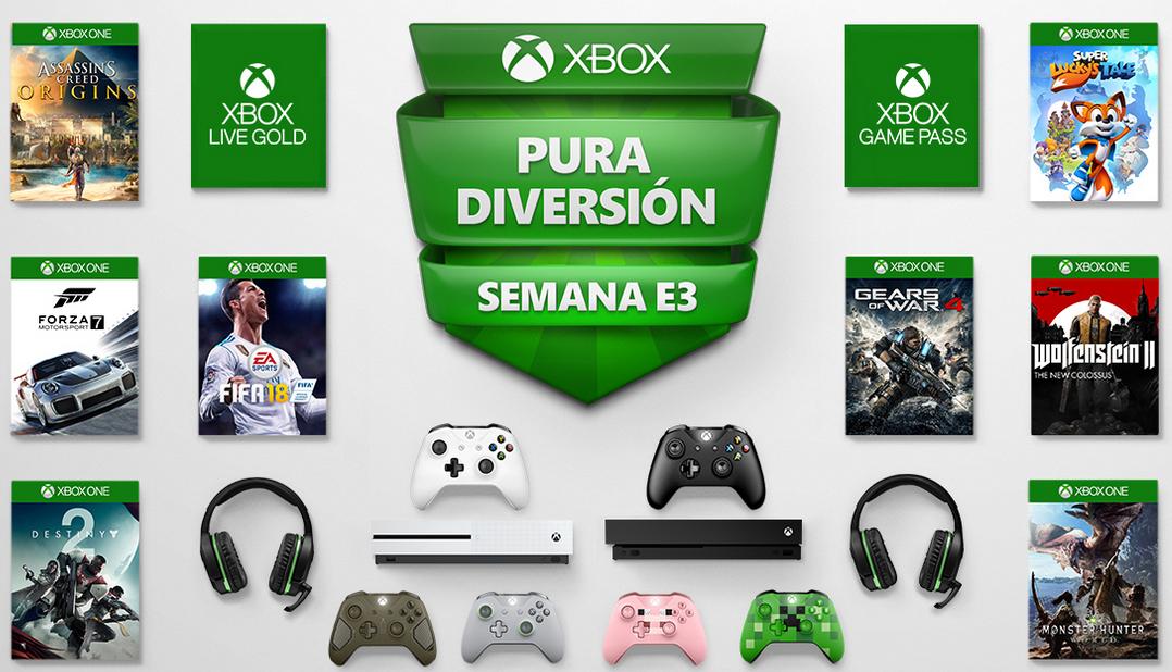 PURA DIVERSIÓN - SEMANA E3 [Xbox]