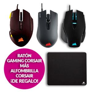 Ratón Corsair + Alfombrilla desde 29,95 €