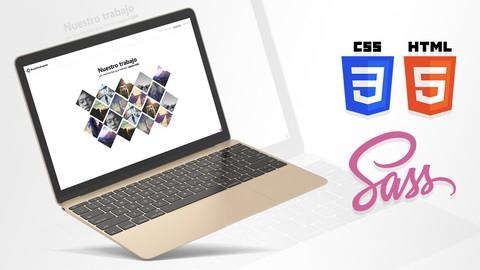 Aprende SASS, CSS3, HTML5 y jQuery creando un sitio sencillo