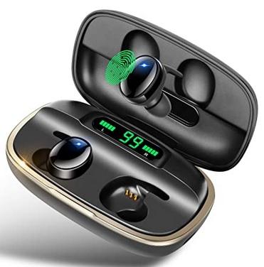 Auriculares Bluetooth 5.0 con estuche de carga de 3000 mAh