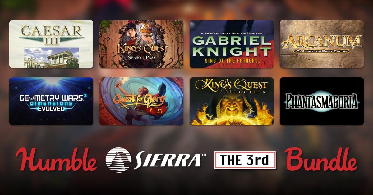 Humble bundle Juegos Sierra desde 1€