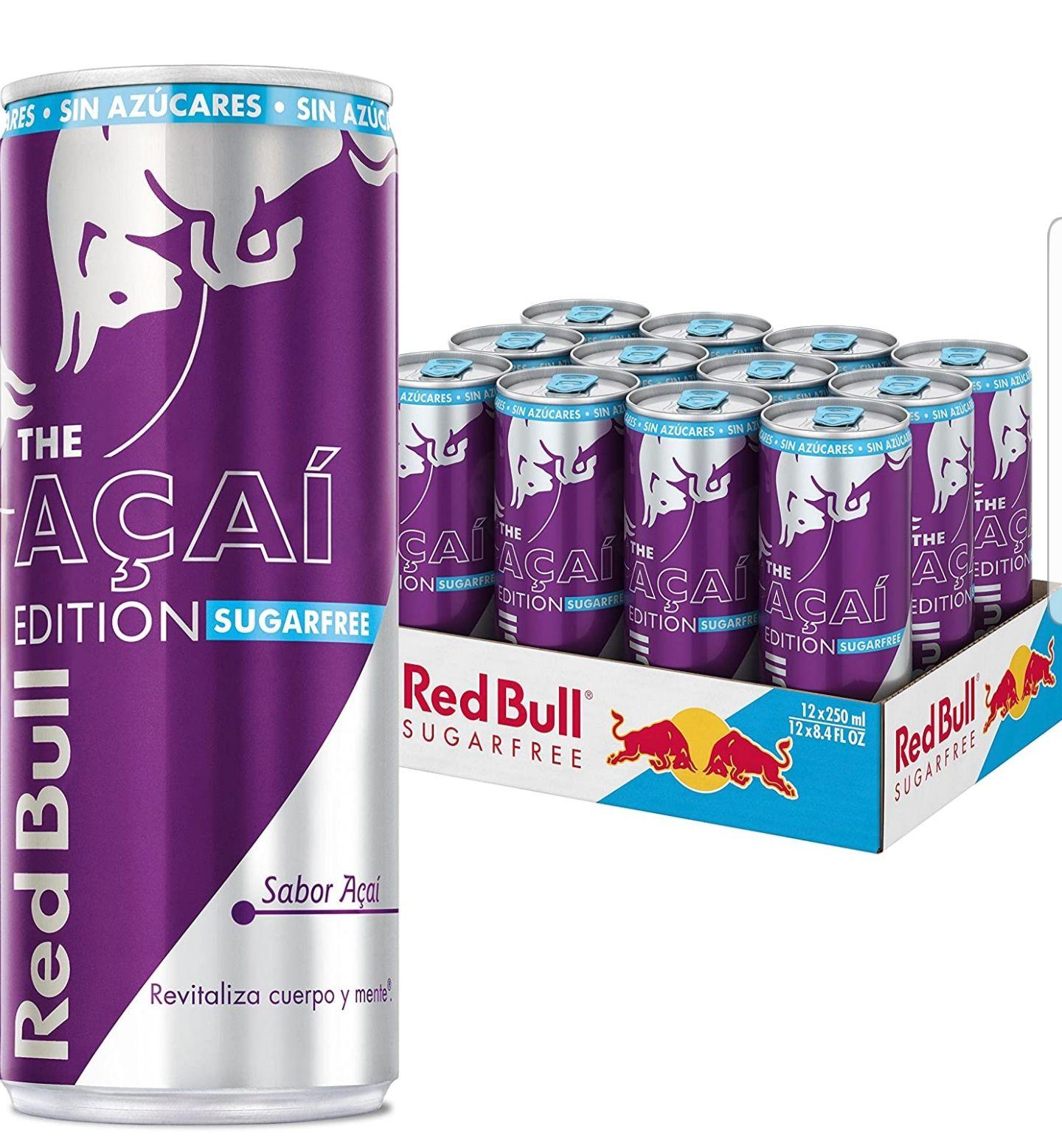 Red Bull Açai Edition Bebida Energética - Paquete de 12 x 250 ml