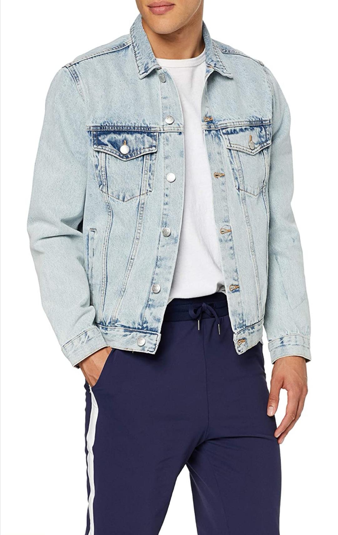 New look chaqueta denim para hombre talla S.51