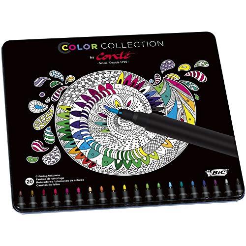 Conté rotuladores – colores Surtidos, Edición Limitada con Estuche Metálico de 20 unidades (Precio al tramitar)